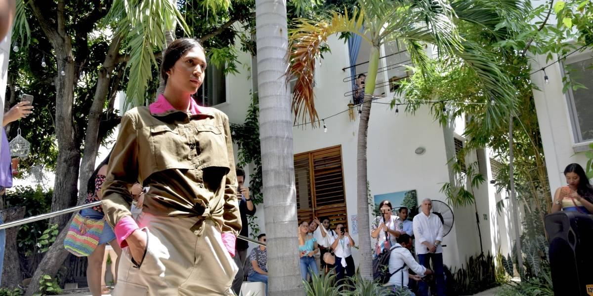Las puntadas que cosieron excombatientes de la Farc para su primera colección de moda en el Caribe
