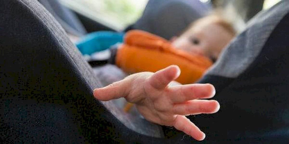 Roban auto con bebé a bordo en Morelia