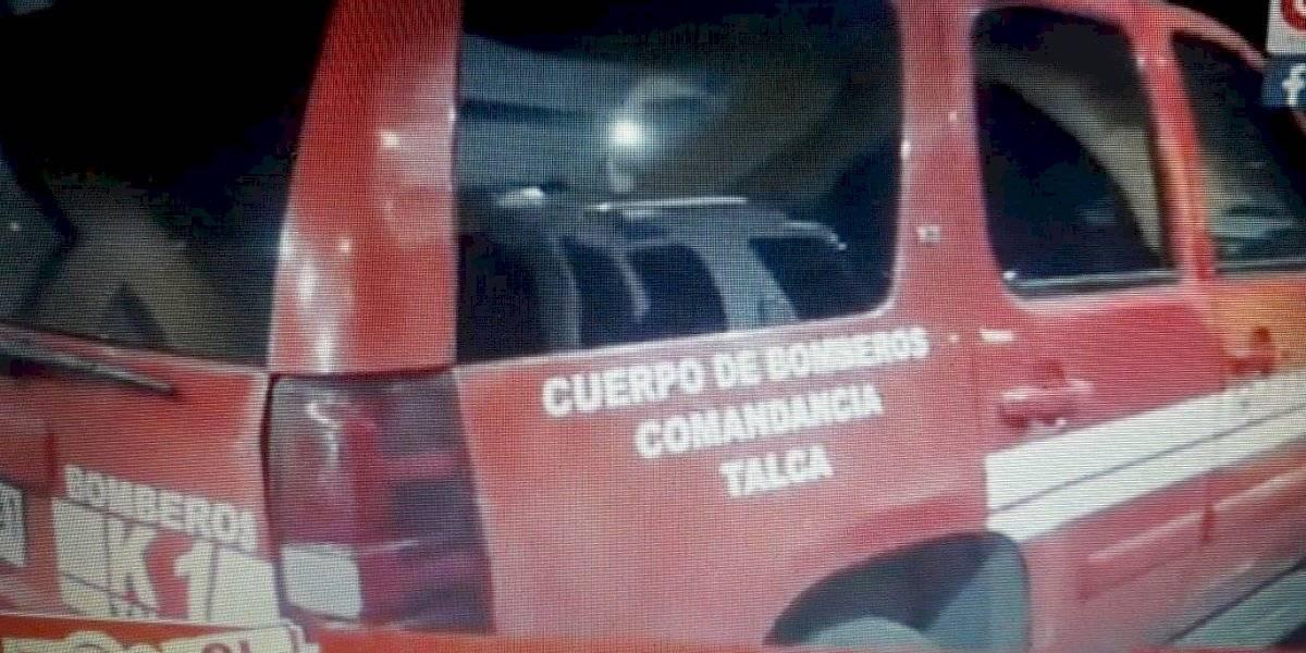"""Bombero de Talca arrestado por FFEE: """"Fue la peor experiencia de mi vida"""""""
