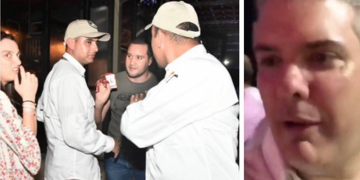 A periodista que le preguntó a Duque lo agredieron y ahora reclaman al Gobierno