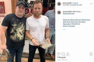 Ewan McGregor, de Star Wars, en Guayaquil
