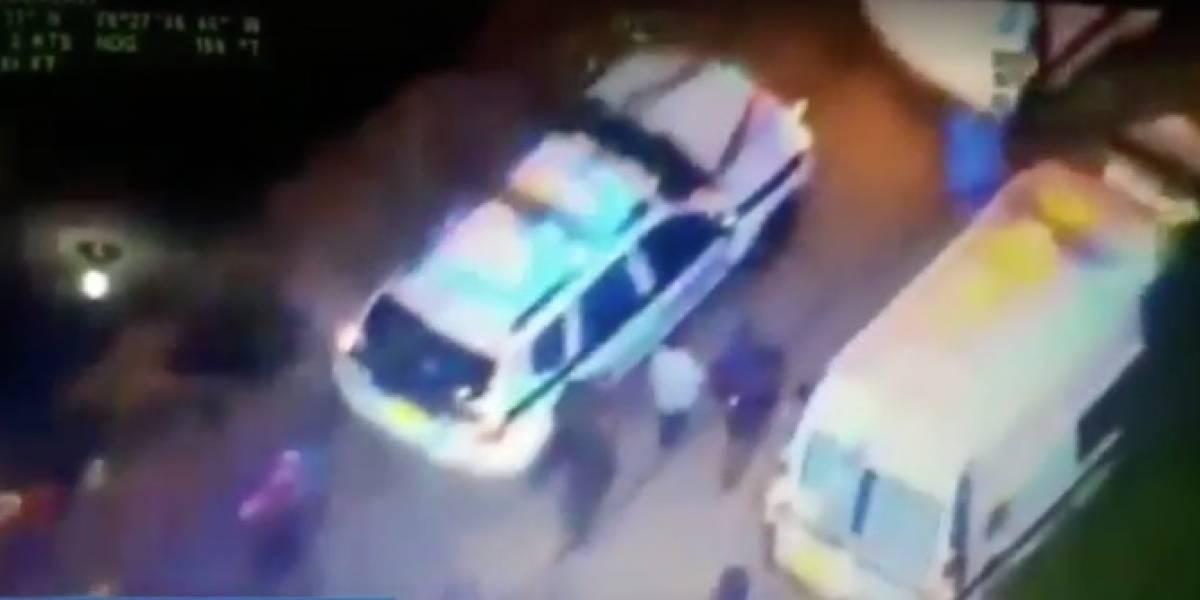Sujeto se robó bus escolar con dos menores en su interior