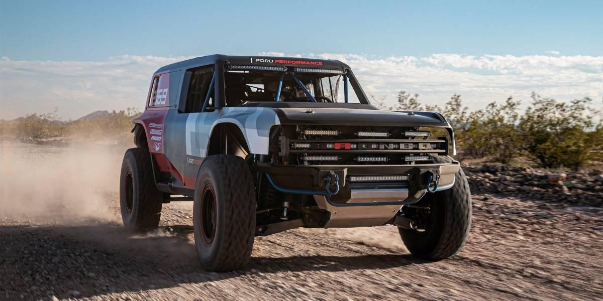 Prototipo de carreras Ford Bronco R llega para rendir homenaje al icónico todoterreno