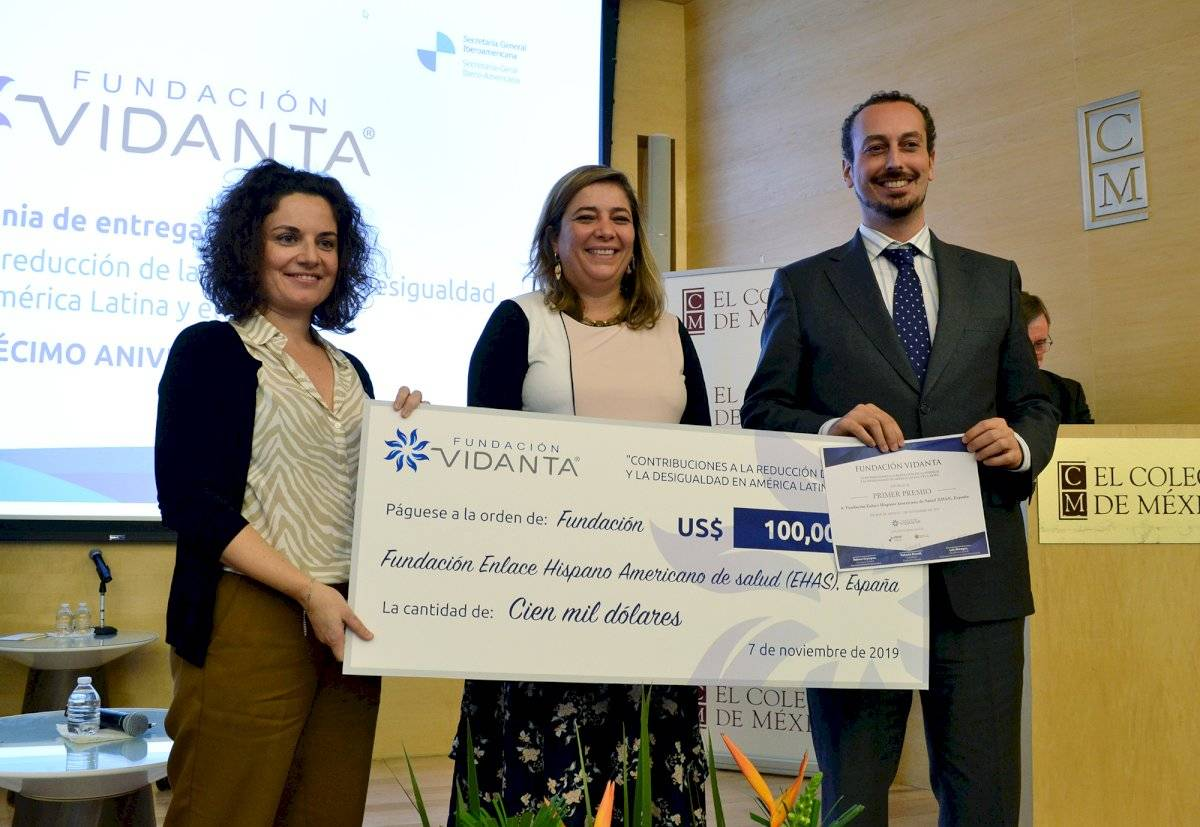 Premio Vidanta, reconoce el trabajo de organizaciones que contribuyen a la reducción de la pobreza y la desigualdad en América Latina y el Caribe. Cortesía Fundación Vidanta