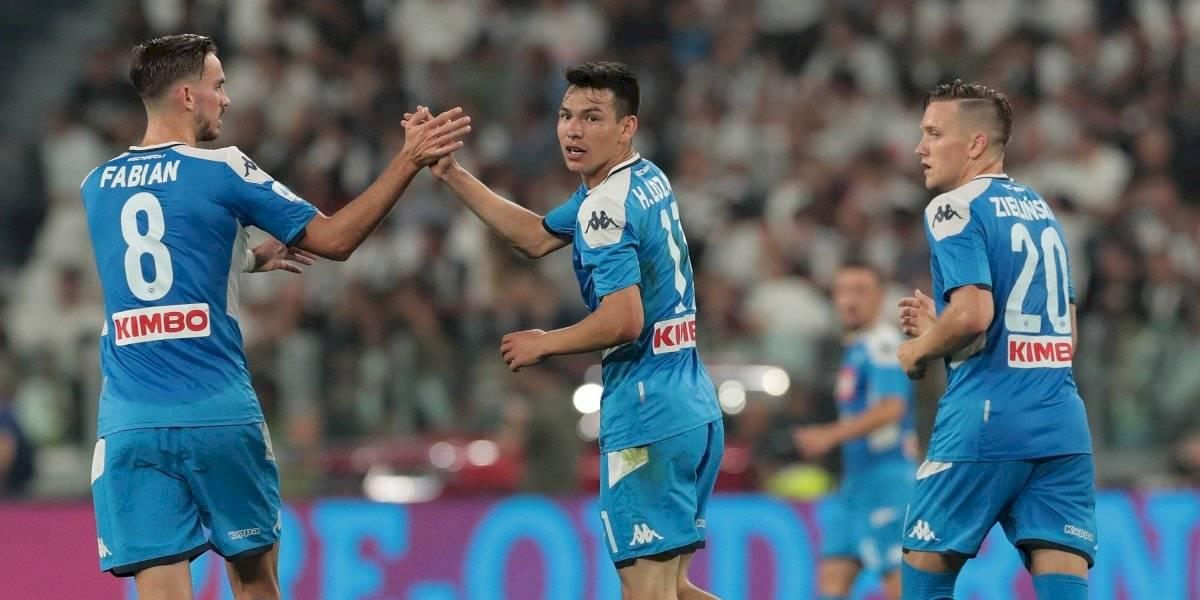 VIDEO: Aficionados llaman 'mercenarios' a jugadores del Napoli