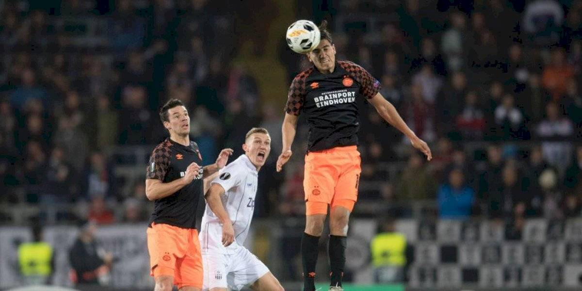 PSV, de 'Guti', sufre goleada y peligra su pase en la Europa League