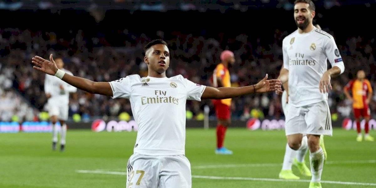 ¿El nuevo Cristiano? El joven Rodrygo logró un hat-trick perfecto y fue figura del 6-0 de Real Madrid en Champions