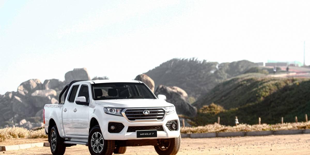 Wringle 7, el nuevo tope de línea de las camionetas de Great Wall