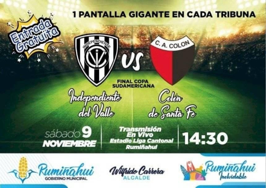 Independiente del Valle vs Colón de Santa Fe