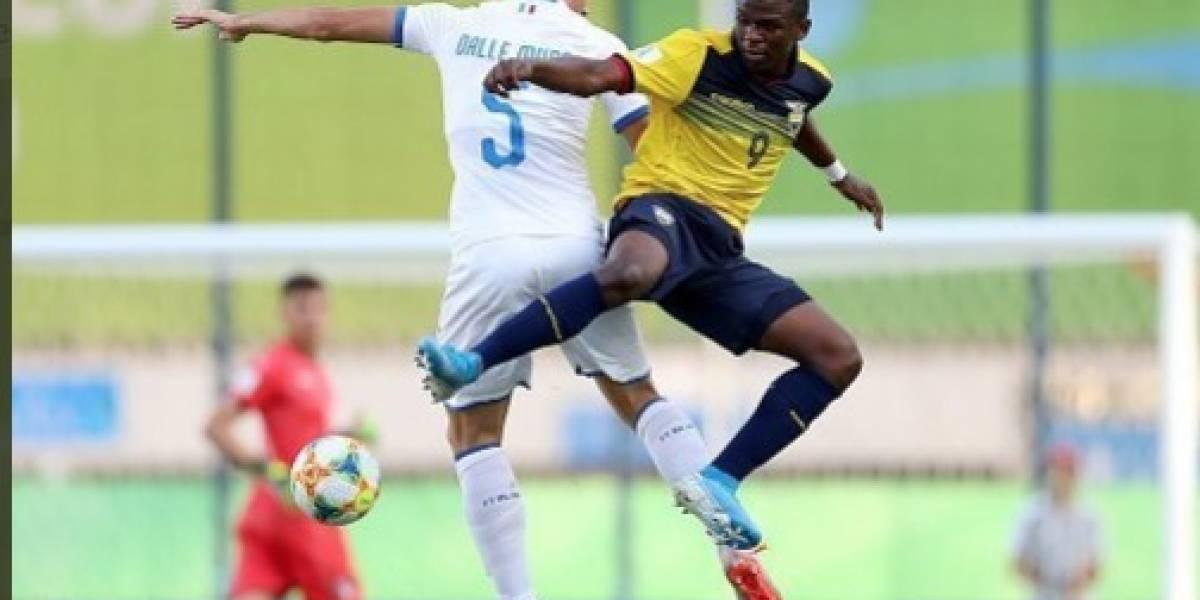 """Italia acabó con el sueño de la """"Mini Tri"""" en el Mundial Sub 17"""