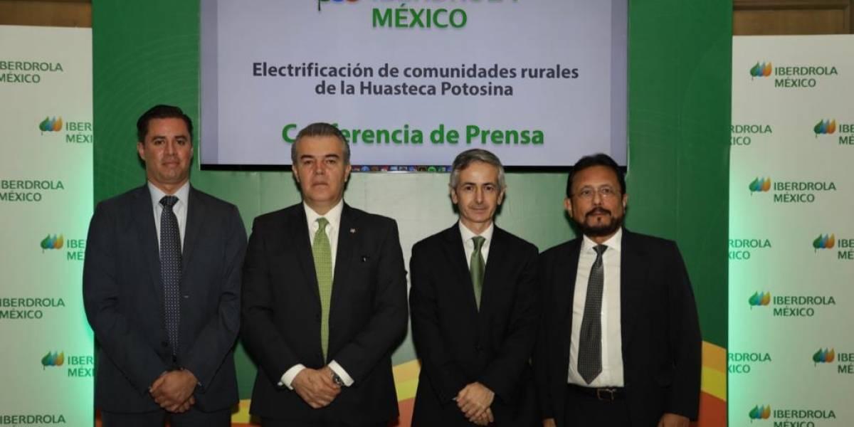 Iberdrola México llevará energía solar a comunidades rurales en la Huasteca Potosina