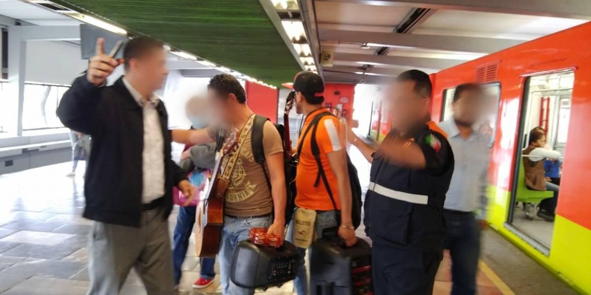Disminuyen 55% los robos en el Metro; cada policía vigila a más de mil 300 usuarios