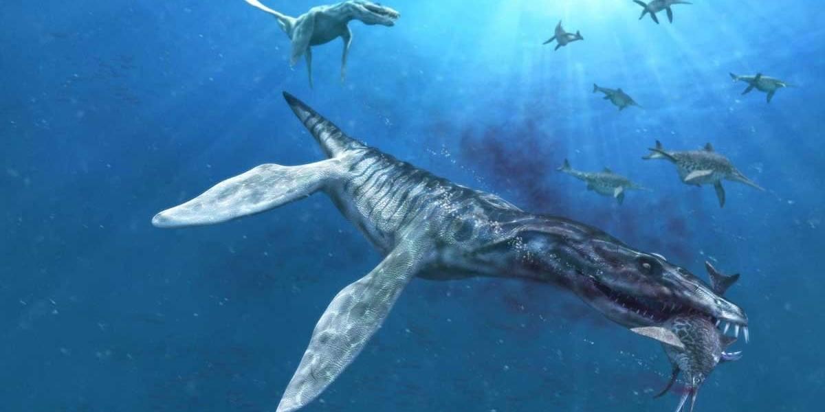 Hallan restos de un pliosaurio marino capaz de devorar un T-Rex