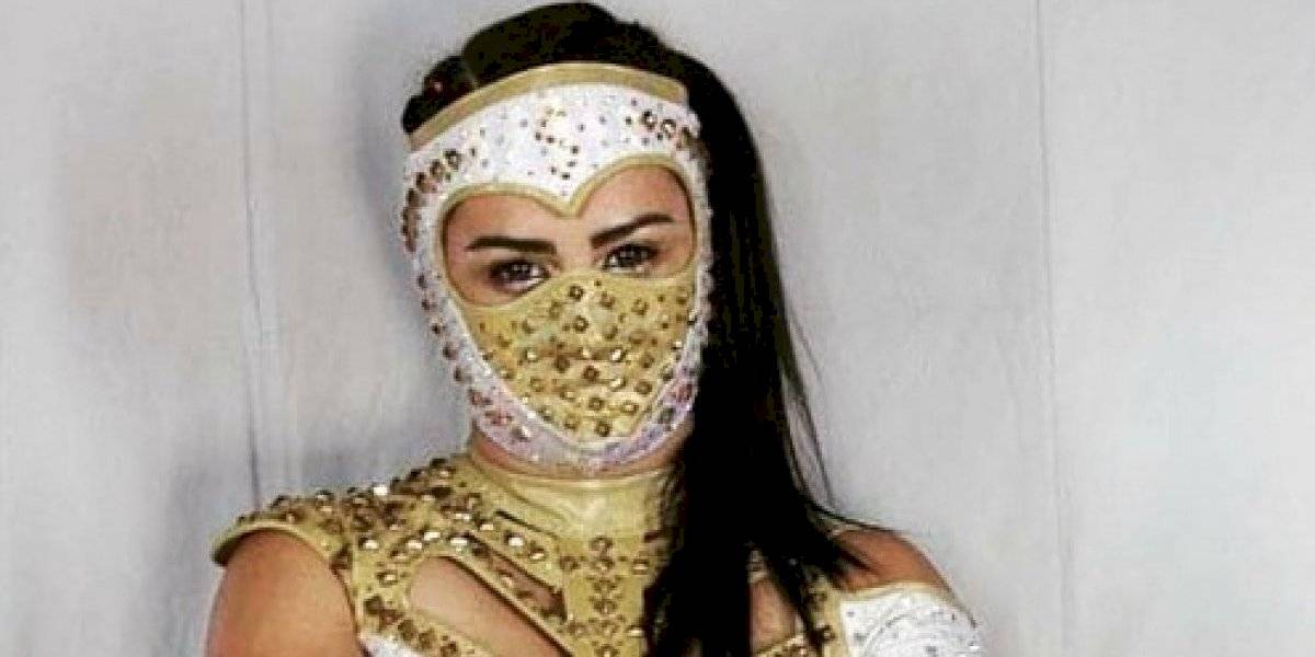 Lady Shani, la mejor luchadora azteca de 2019