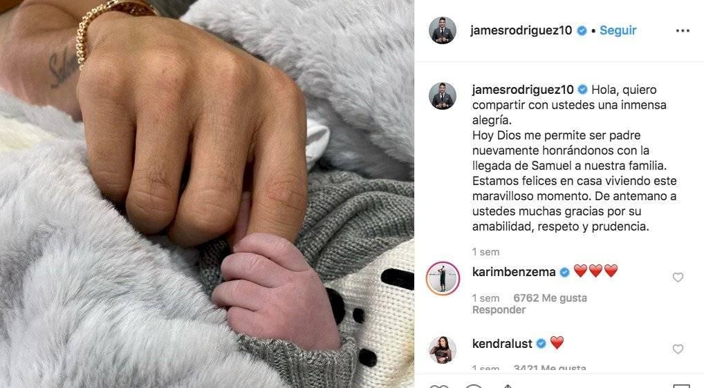 Shannon de Lima habla de su hijo con James Rodríguez