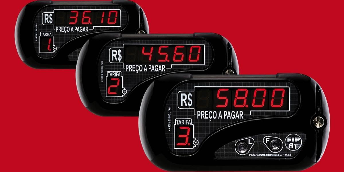 Bandeira 3 para táxis: entenda a nova cobrança e compare os preços