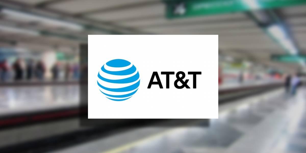 CDMX: AT&T lleva internet gratuito a dos líneas más del metro