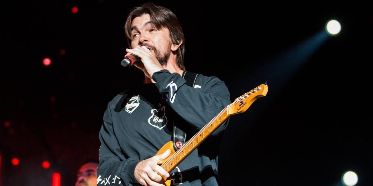 Juanes, agradecido con la vida con la música
