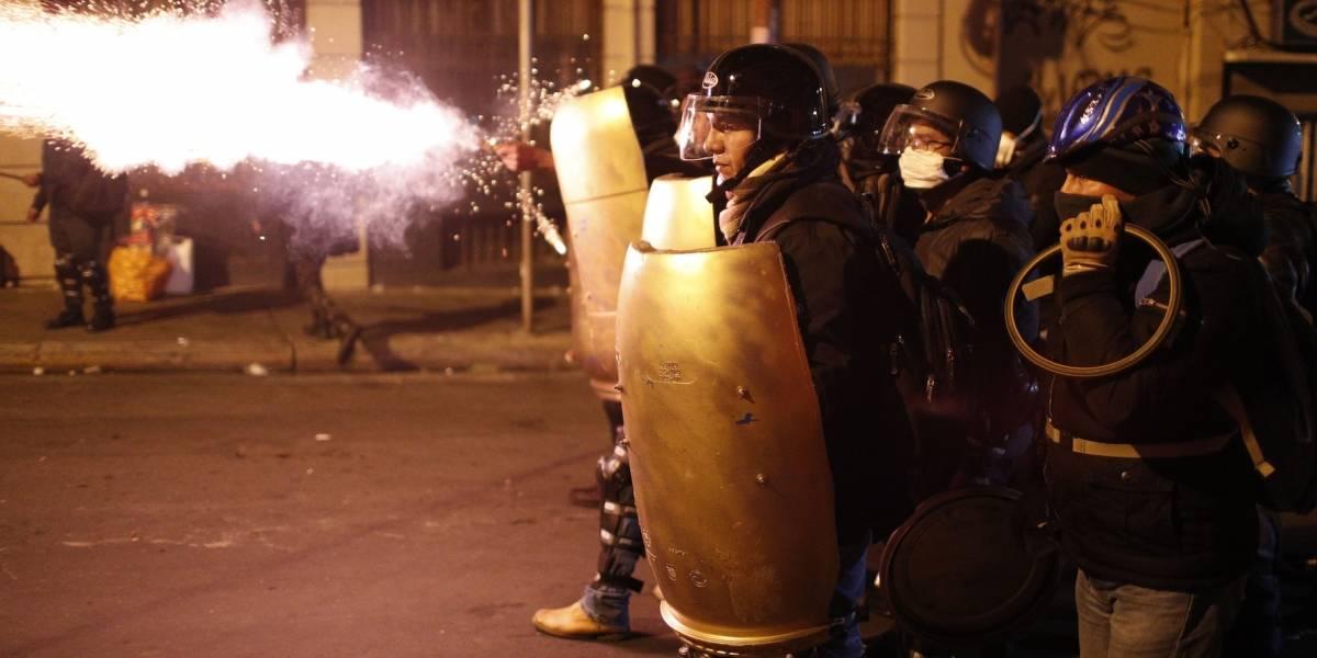 Evo Morales denuncia represión de la policía contra manifestantes en El Alto