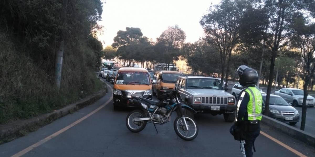 Quito: Un fallecido por accidente de tránsito en la Simón Bolívar
