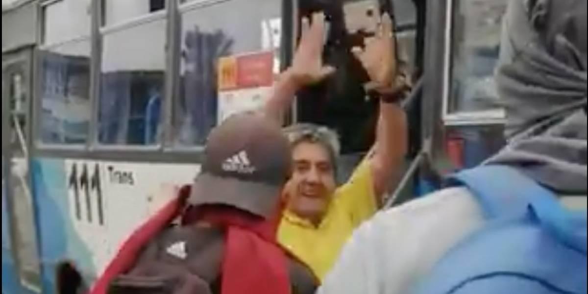¡El que baila pasa! Nueva forma de protesta en Chile