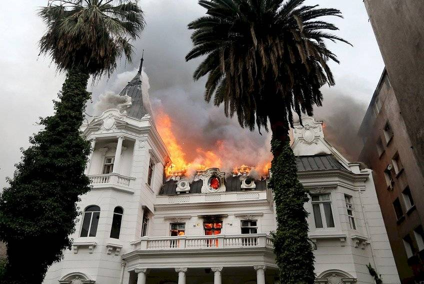 Incendio de Universidad Pedro de Valdivia