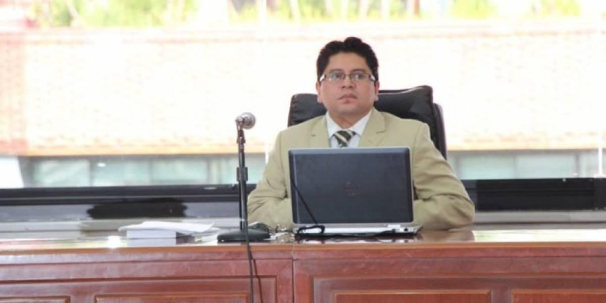 Yofre Poma fue declarado culpable por el delito de paralización de servicio público durante paro