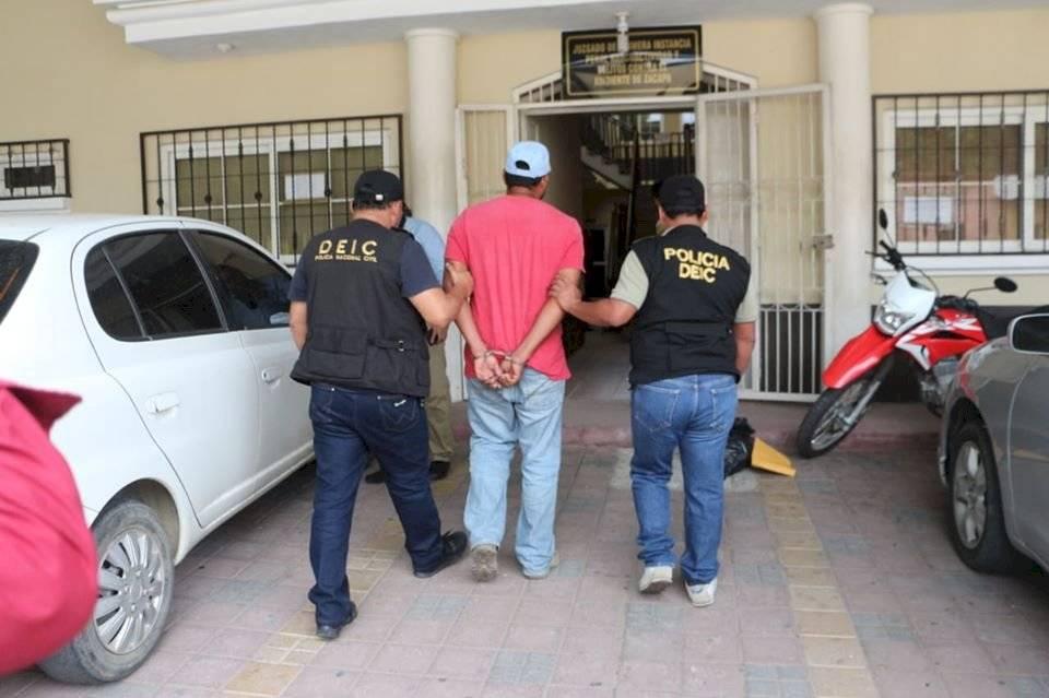 capturan a Álvaro Acevedo por múltiple crimen en Zacapa
