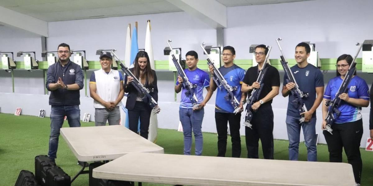 Federación de Tiro adquiere sofisticadas armas para sus deportistas