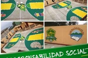 Partes de las obras sociales que hace el equipo de San Pedro FC