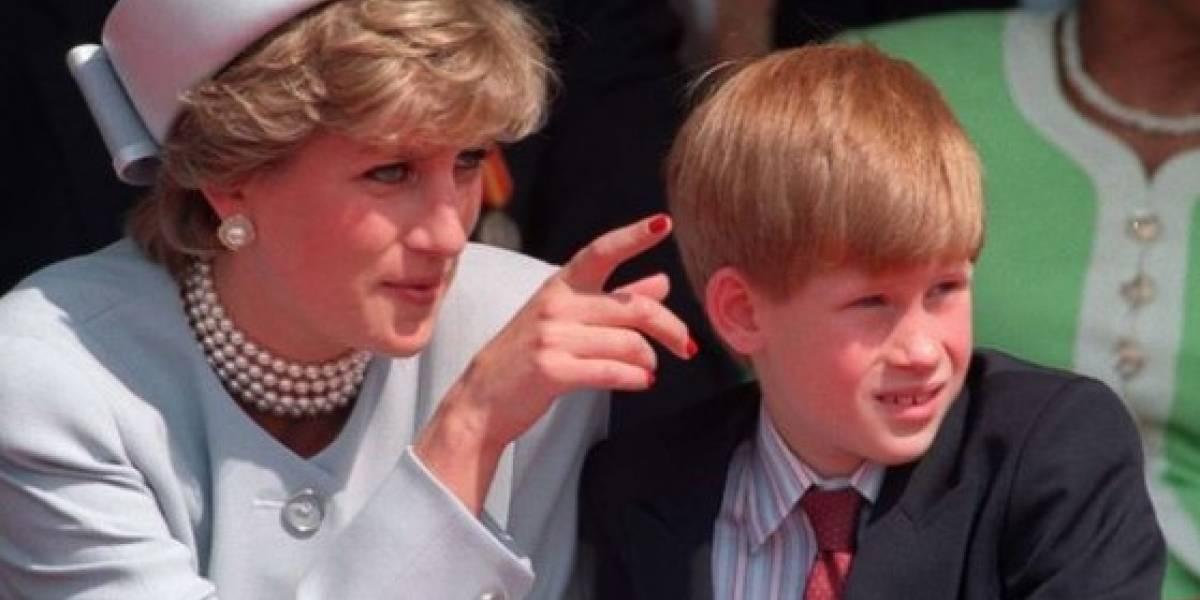 Revelan el desgarrador secreto que Harry ha mantenido todos estos años sobre la princesa Diana