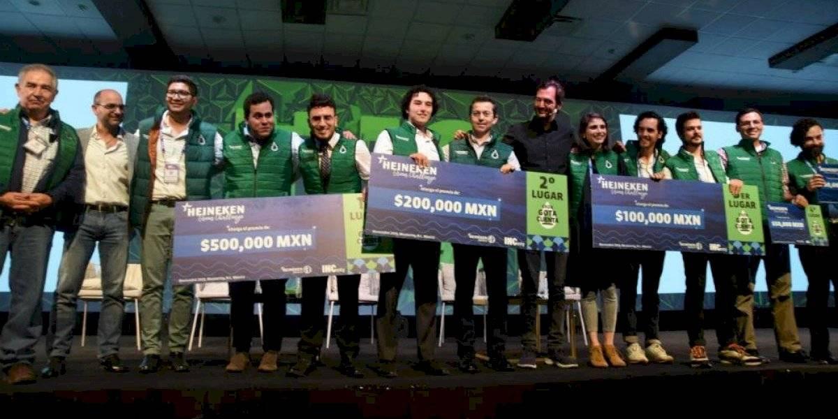 Heineken premia a jóvenes interesados en cuidado del agua y medio ambiente