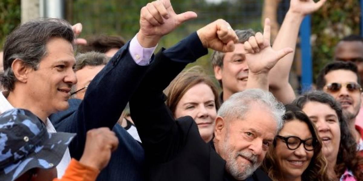 Inácio Lula sale de la cárcel tras ser beneficiado por orden judicial