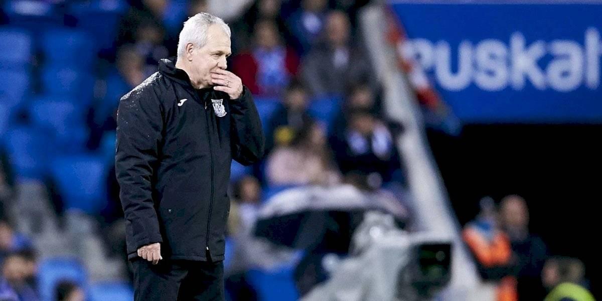 Javier Aguirre debuta con Leganés con valioso empate ante la Real Sociedad