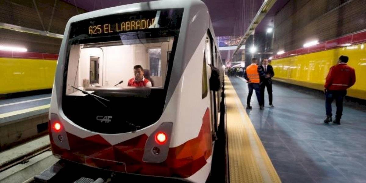 Cambian logo del Metro de Quito por segunda vez