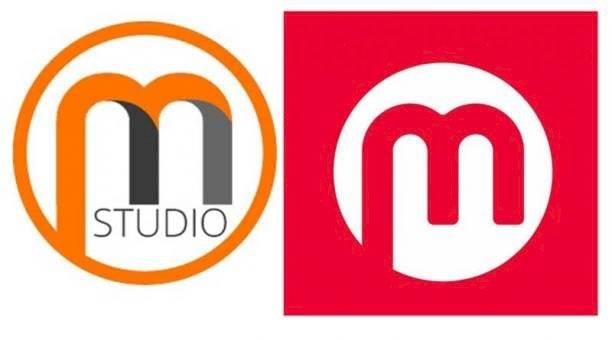 Primer logo del Metro de Quito