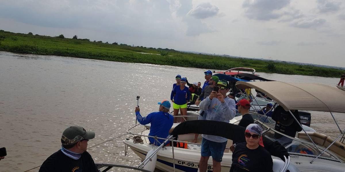 Navegantes aficionados realizaron recorrido de 1000 kilómetros por el río Magdalena