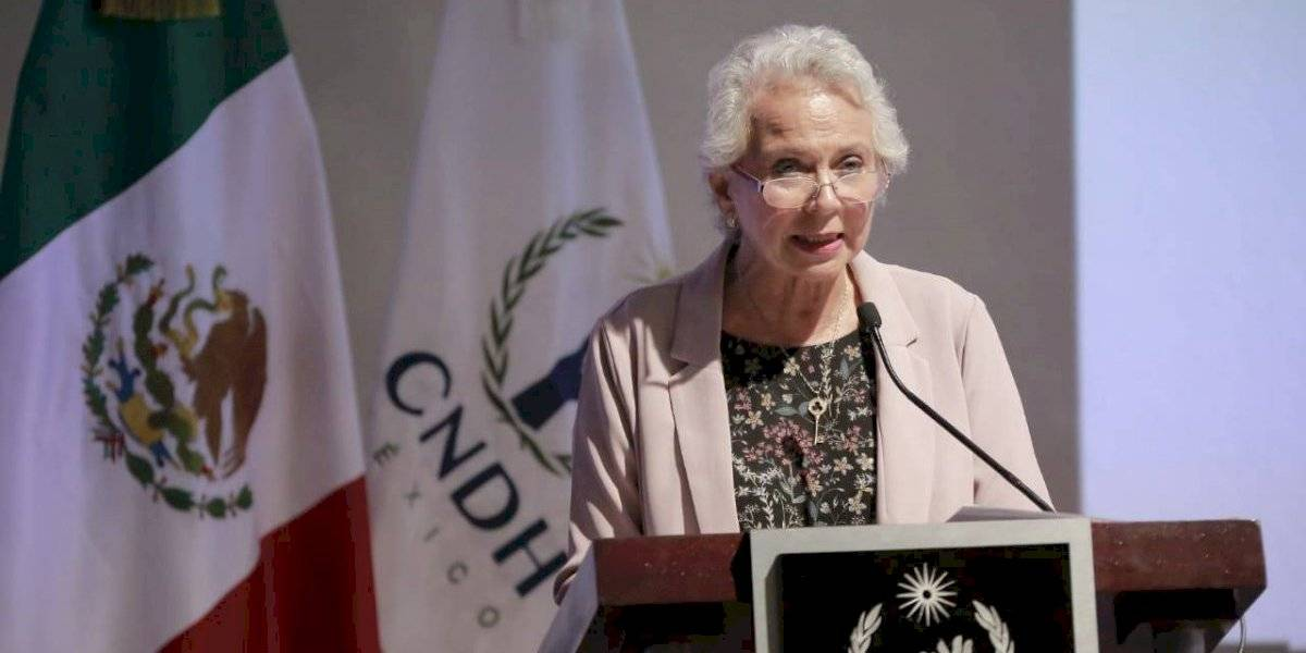 Sánchez Cordero pide no prejuzgar a nueva titular de la CNDH