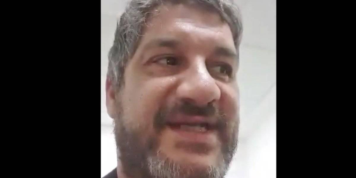 Retienen al periodista chileno Víctor Herrero en el Aeropuerto de Ezeiza, Argentina
