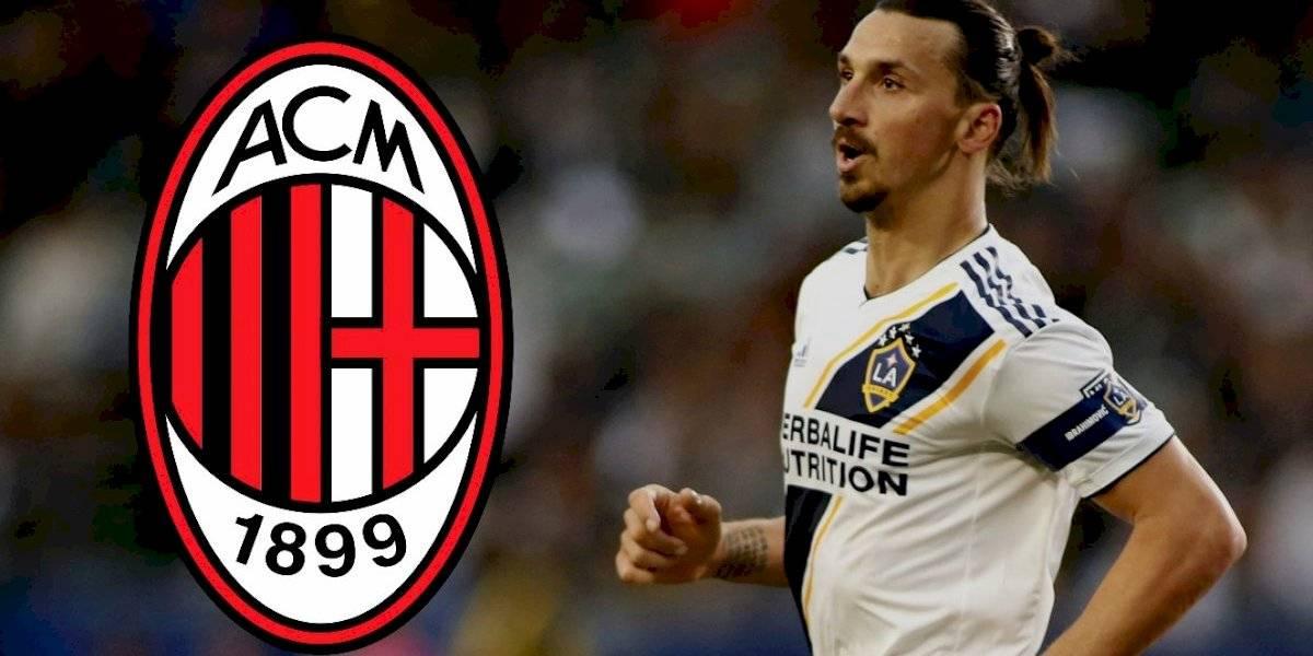 Zlatan Ibrahimovic abandonará la MLS... ¡volverá al Milán!