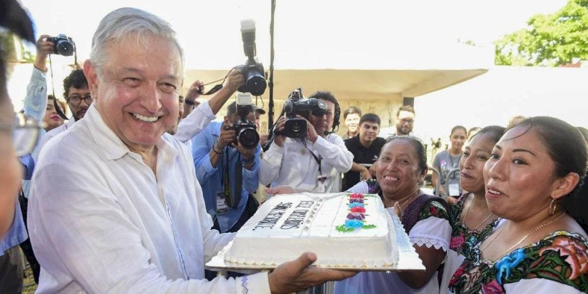 AMLO garantiza consultar a pueblos indígenas de Yucatán respecto al Tren Maya