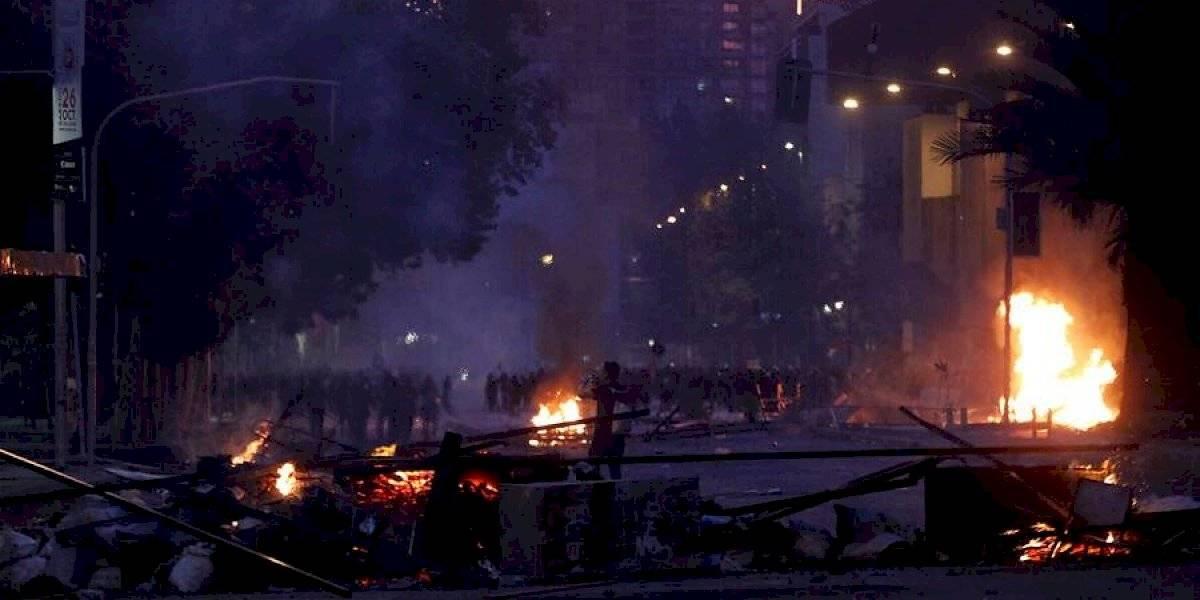 """Tras nueva jornada de movilizaciones: Subsecretaría del Interior reporta 41 """"eventos graves"""" y 40 civiles lesionados a nivel nacional"""