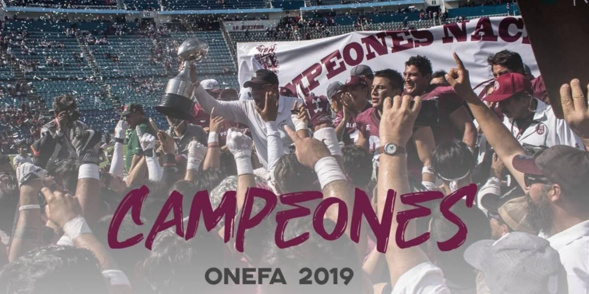 Burros Blancos se coronan en la ONEFA, 64 años después