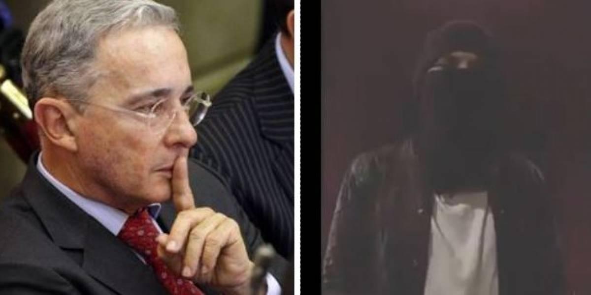 Uribe responde a video de encapuchado que insta a violencia el 21 de noviembre