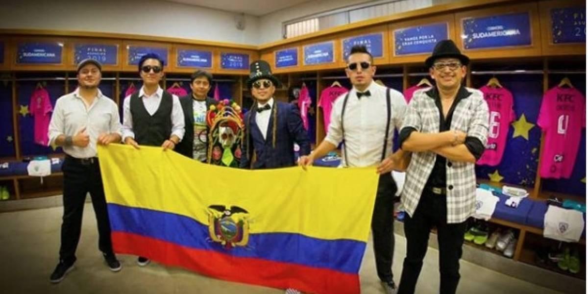 Independiente del Valle vs Colón de Santa Fe: Así se lucieron 'La Vagancia', 'Las Palmeras' y Luis Fonsi en la final de la Copa Sudamericana