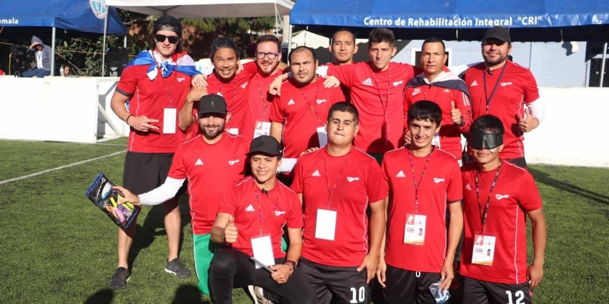 VIDEO. Costa Rica campeón centroamericano del Futbol 5 B1