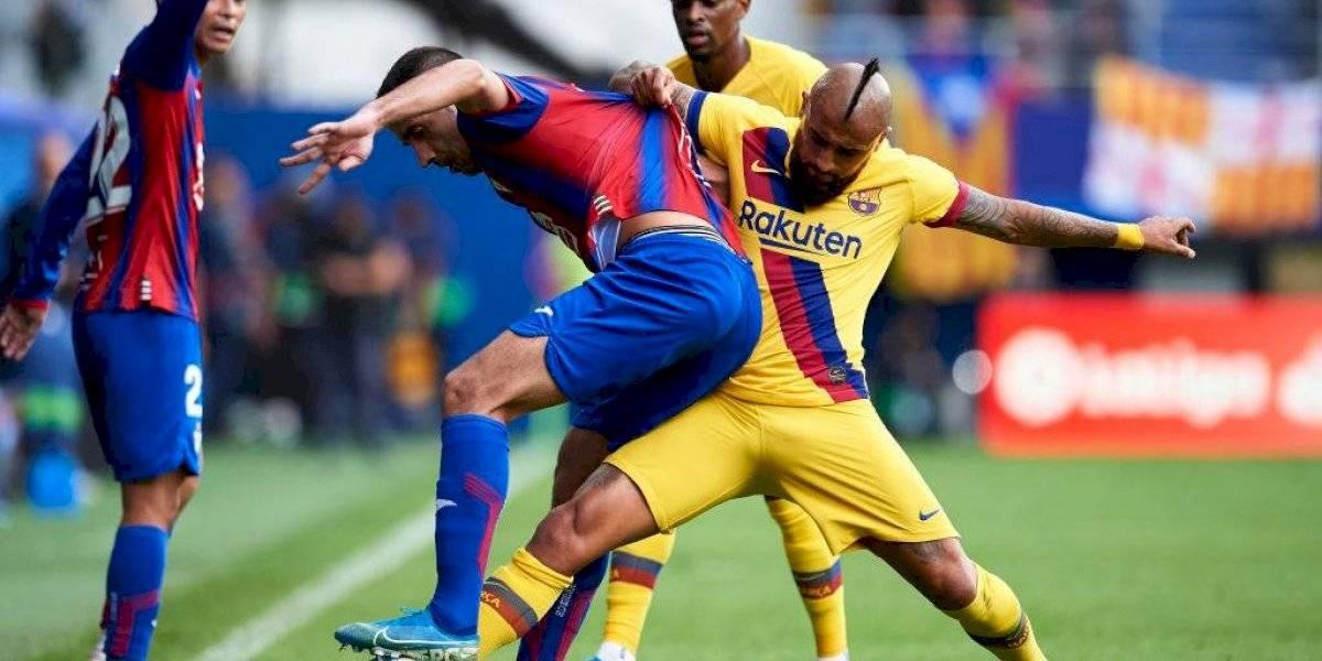 """Arturo Vidal registra la mayor cantidad de """"tackles"""" en las cinco ligas más importantes de Europa"""