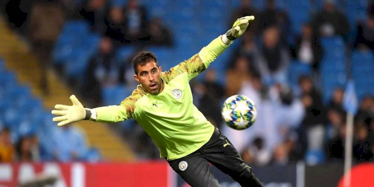 """""""Pep tiene fe en su arquero problema"""": Medio inglés ironizó con la titularidad de Bravo en Manchester City"""