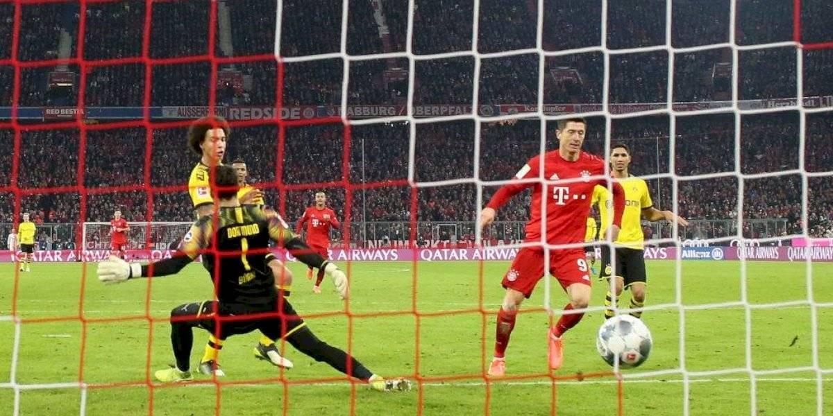 Con récord de Lewandowski incluido: Bayern Munich goleó al Borussia Dortmund en el clásico alemán de la Bundesliga