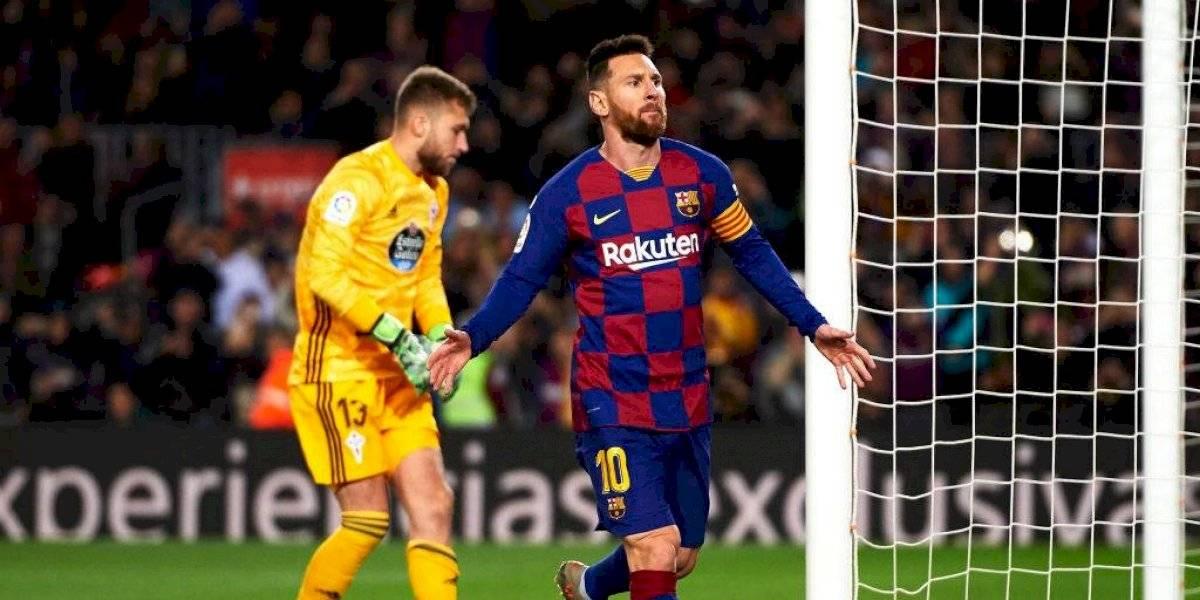 Barcelona derrotó sin problemas a Celta de Vigo y alcanzó al Real Madrid en el liderato de La Liga